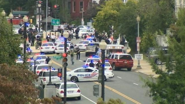 U.S. Capitol on Lockdown, Reports of Shots Fired