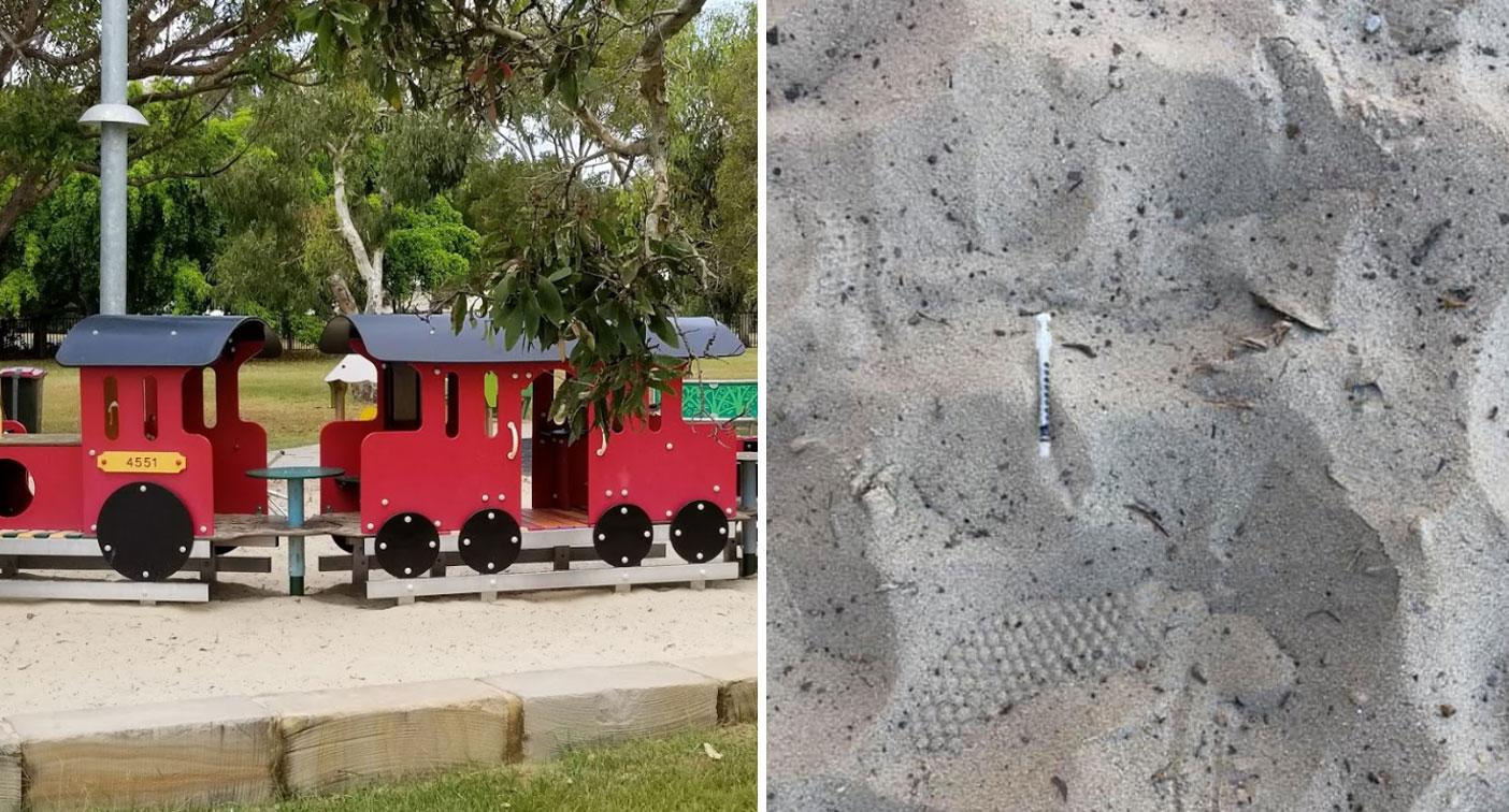 'What is wrong with people?': Mum's 'utterly disgusting' find at kids' playground