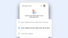 Google will auto-delete new users' web data after 18 months