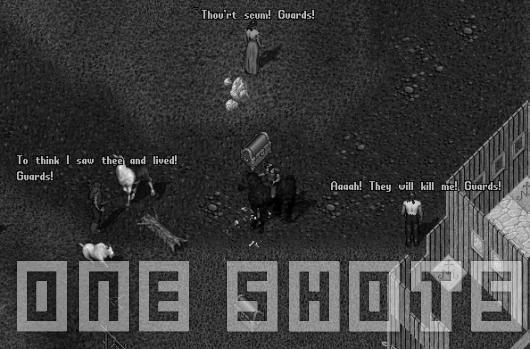 One Shots: Guard whacked!
