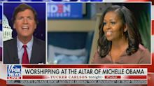 Tucker Carlson compares Michelle Obama to Scientology founder L. Ron Hubbard