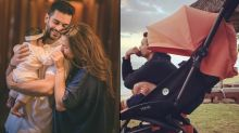 Angad Bedi Tying His Baby Girl, Mehr Dhupia Bedi's Shoelaces Reflects Of A Pure Father-Daughter Love