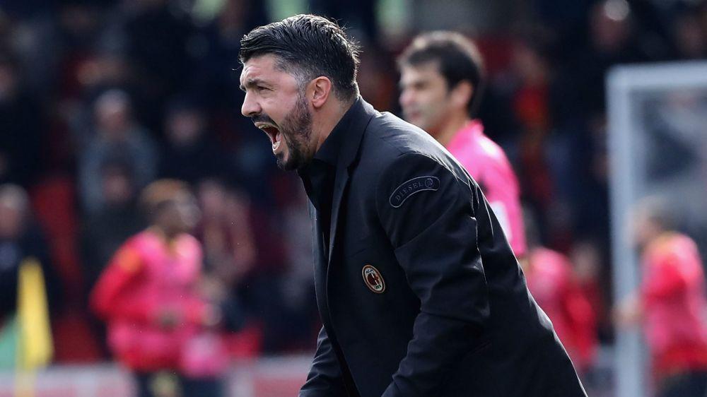 Gattuso slams fragile Milan's 'embarrassing' Europa League defeat