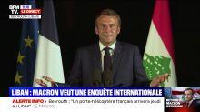 """""""Macron vient de déclencher une révolution là. Je suis pas sûr qu'il réalise."""" : Interrogé sur la légitimité du pouvoir en place au Liban, Emmanuel Macron a livré une réponse qui fait polémique sur les réseaux sociaux"""