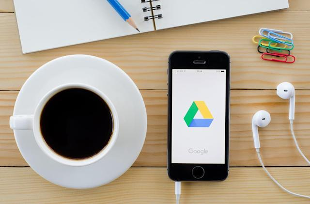Google redesigns Drive to look more like the new Gmail