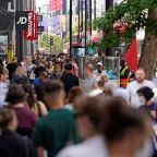 UK economy grows 2.3% in April as Covid restrictions ease and pubs and shops reopen
