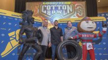 Goodyear Reimagines Mascots as Giant Tire Sculptures