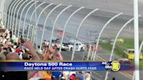 Thousands of spectators fill stands at Daytona 500