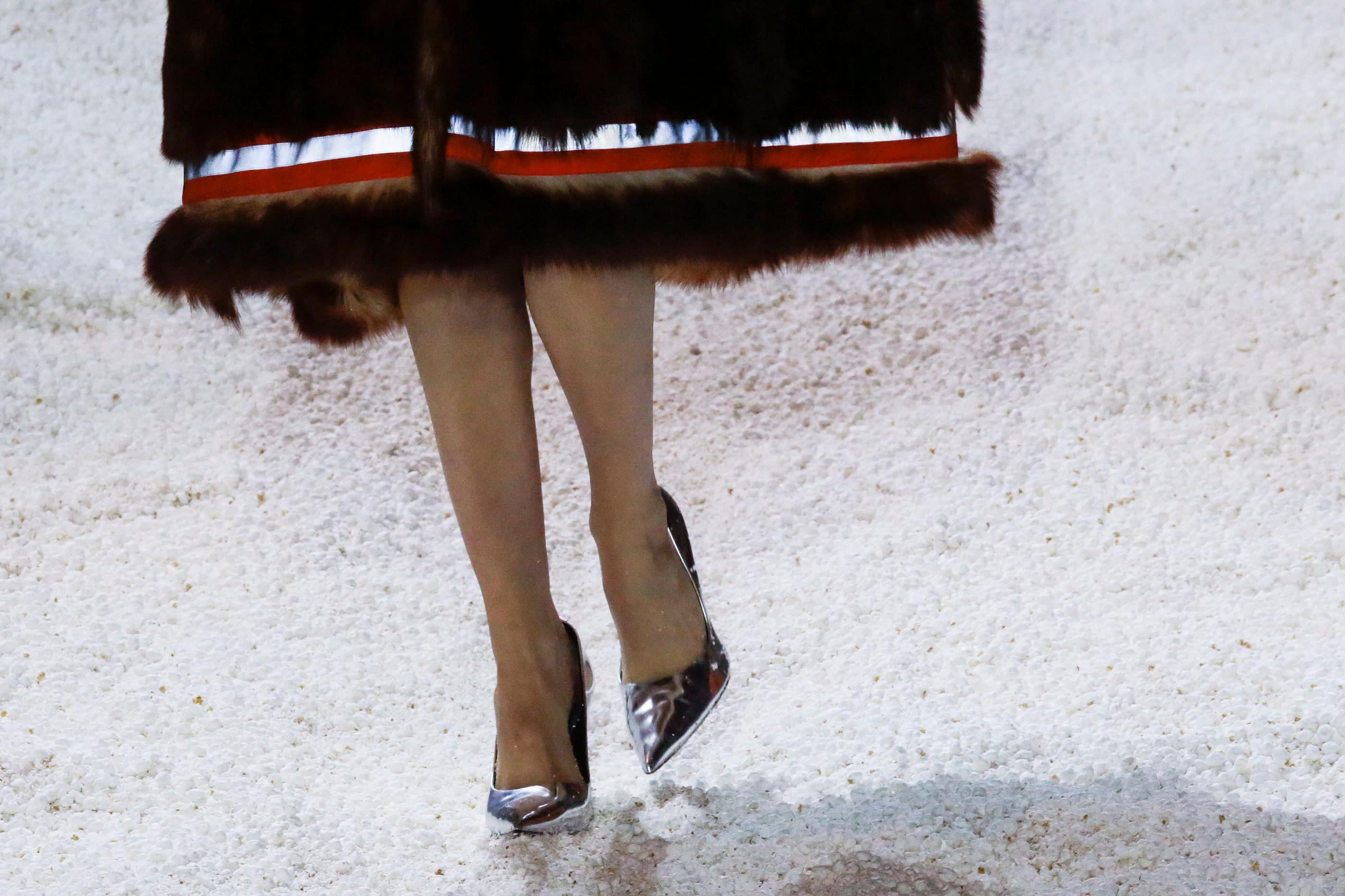 À la Fashion Week de New York, l'idée de Calvin Klein n'est pas très anti-gaspi