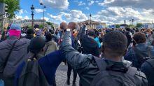 """""""On a toujours été discriminés"""": place de la Concorde, des manifestants dénoncent le racisme et les violences policières"""