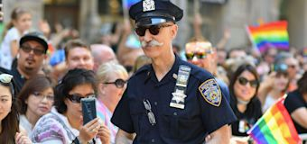 Police banned from NYC pride events until 2025