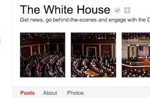 The White House joins Google+, invites you to Hangout