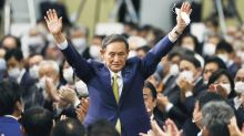 Yoshihide Suga elected Japan's new prime minister succeeding Shinzo Abe