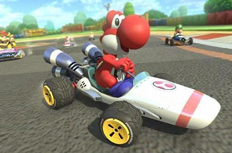 Mario Kart 8 B Dasher video brings back Mario's mad moves