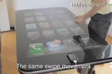 iPhone table connector project gets a demo video