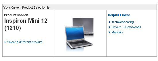 Inspiron Mini 12 pops up on Dell's website: it's a done deal (almost)