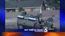 5-Year-Old Boy Killed in Palmdale Rollover Crash