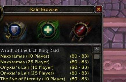 Patch 3.3 PTR: New Looking for Raid interface
