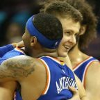Kristaps Porzingis 'ready for the challenge' of playing without Carmelo Anthony