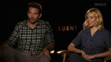 'Burnt' Stars Bradley Cooper and Sienna Miller Give Us Fine Dining Tips