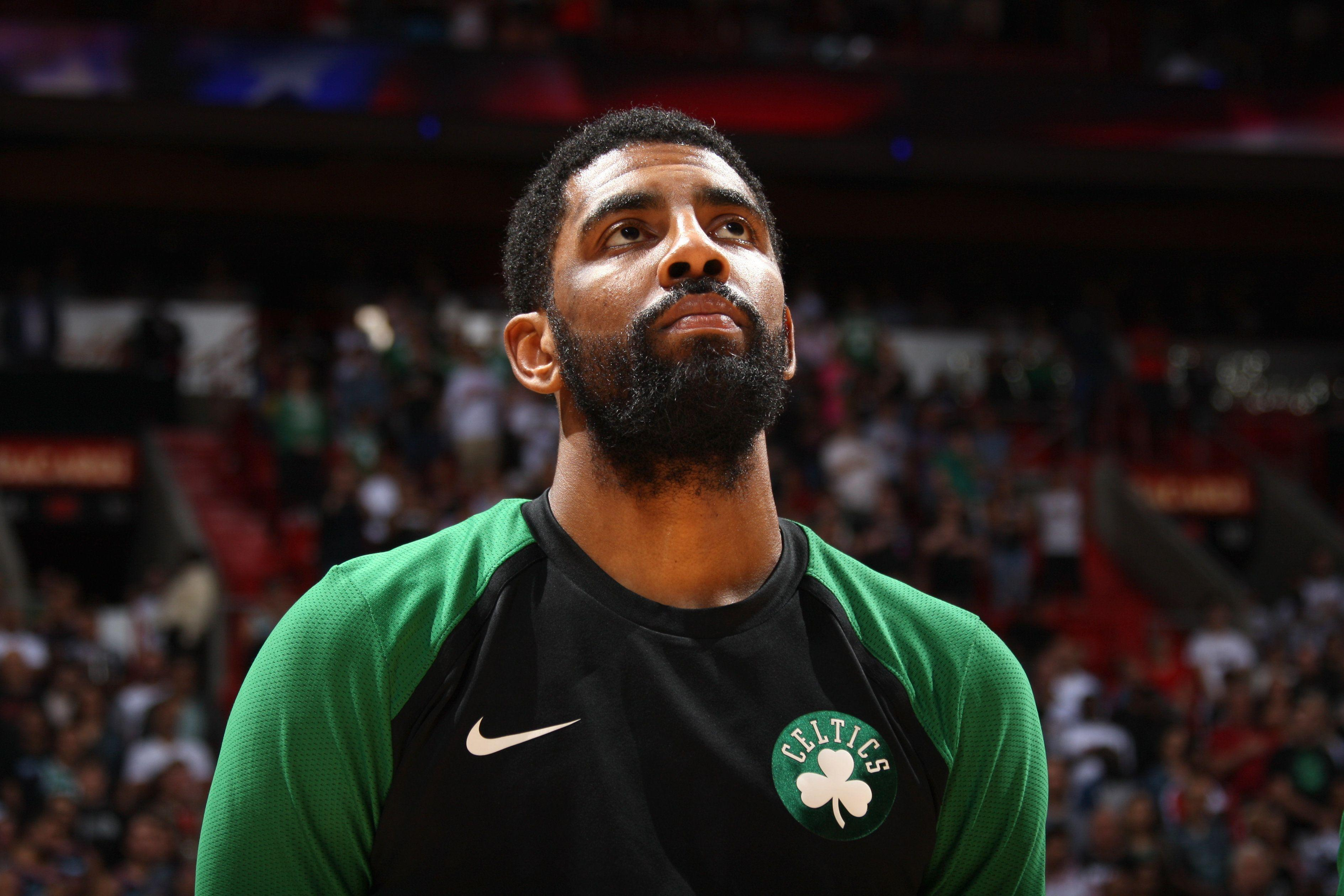 sale retailer 219d9 61f82 Kyrie Irving sums up his experience during Celtics  season   A lot of  bulls---