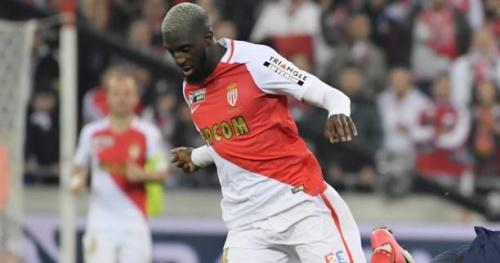 Foot - C1 - Monaco - Monaco : Tiémoué Bakayoko s'est échauffé au Signal Iduna Park