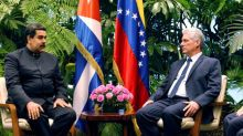 Underlining alliance, Venezuela's Maduro visits new Cuban leader