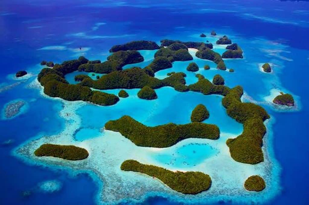 Palau is a Pacific Ocean archipelago made up of hundreds of islands (AFP Photo/MATT RAND)
