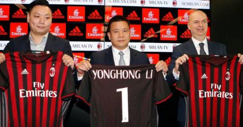 Foot - ITA - AC Milan - AC Milan : le nouveau président Li Yonghong sent «une grande responsabilité»