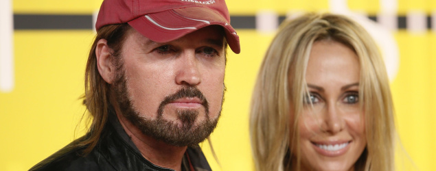 Musician Billy Ray Cyrus and producer Tish Cyrus (Reuters)