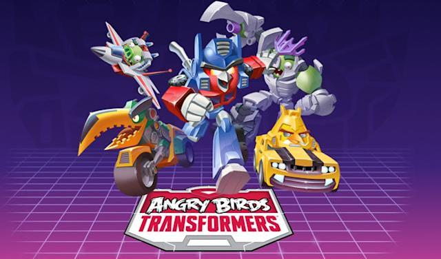Angry Birds Transformers is coming, and hopefully Michael Bay isn't involved