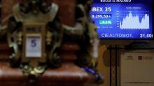 El IBEX 35 sube el 0,44 % a mediodía y mantiene el nivel de 9.300 puntos