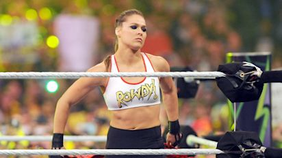 Government confuses Ronda Rousey's staged WWE arrest as real life in COVID-19 PSA docs