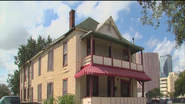 Historic Jackson House in need of repairs