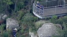 Woman and child found dead at Mt Keira lookout near Wollongong