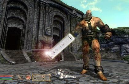 Oblivion's Gamebryo engine ported to Wii