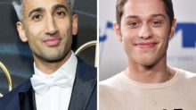 Watch 'Queer Eye's' Tan France make over 'SNL' star Pete Davidson's style