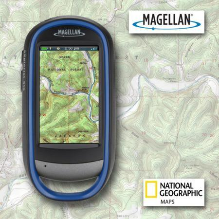 National Geographic TOPO! maps find their way to Magellan eXplorist GPS devices