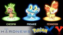 Pokemon Generation 6 Announced, New Injustice Characters and a New Handheld! - Hard News Clip