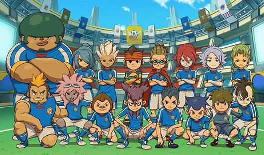 Soccer RPG Inazuma Eleven launching on 3DS eShop today