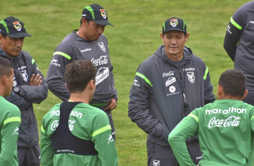 Soria trabaja a escondidas con la selección boliviana