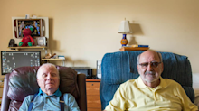 Gay veterans who tied the knot in retirement home celebrate 25 'very happy' years together