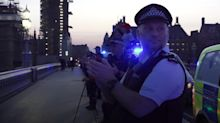 London emergency services clap for NHS