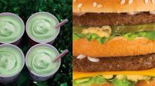 McDonald's Shamrock Shake vs. Big Mac: Which has more calories?