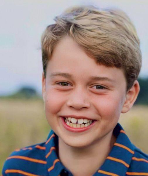 Prince George Looks All Grown Up In New Birthday Photos