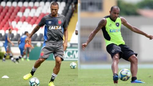 Luis Fabiano e Roger: da Ponte Preta ao Vasco x Botafogo desta noite