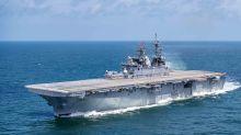 New Amphibious Assault Ship USS Tripoli Joins the U.S. Navy