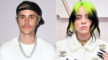 Justin Bieber Tearfully Talks About 'Protecting' Billie Eilish: 'I'm Gonna Be Here for Her'