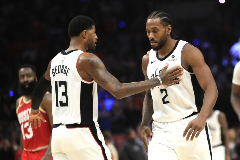 Healthy Kawhi Leonard and Paul George support Clippers' belief they can win it all