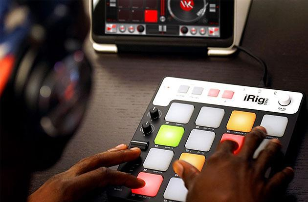 iRig Pads offers multicolored MIDI control for iOS and more